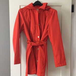 Michael Korda Rain Coat - Orange
